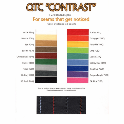 Purchase A T-270 Contrast Thread Chart