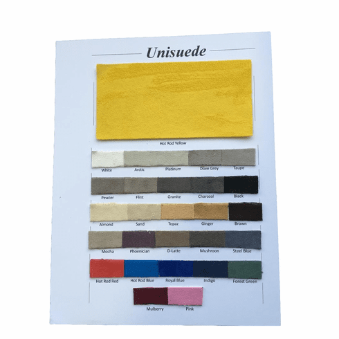 Purchase A UNISUEDE SAMPLE CHART