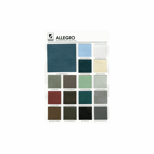 Purchase an Allegro Sample Card