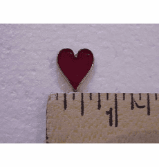 Red Heart Suited Nail Head