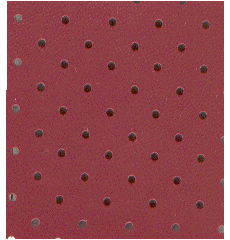 Red Perforated Headliner