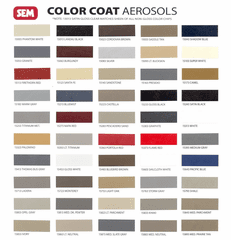 SEM  Color Coat For Vinyl, Leather, & Plastics
