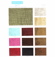 "Skintex SF Aquatic (Baby Crocodile) ""Faux"" Leather Vinyl"