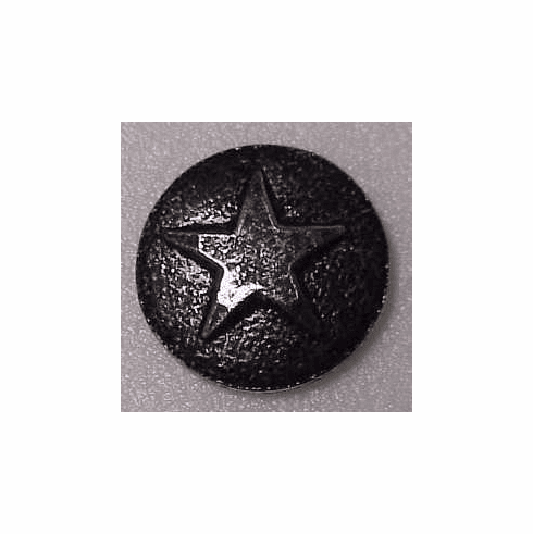 "SMALL  ""Antique Nickel"" Star Medallion Decorative Nail Head (Individual) OUT OF STOCK"