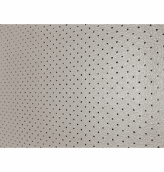 Soft Seat Automotive Perforated Upholstery Vinyl Medium Gray