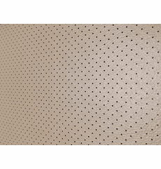 Soft Seat Automotive Perforated Upholstery Vinyl Medium Neutral