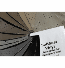 SoftSeat Solid And Perforated Vinyl Upholstery In OEM Colors