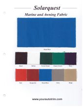 SolarQuest Marine Topping and Awning Fabric