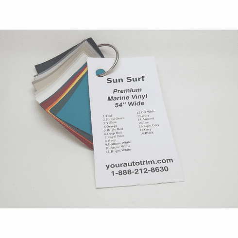 Sun Surf Marine Vinyl Sample Ring