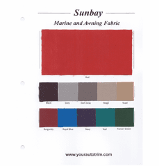 Sunbay Sample Card