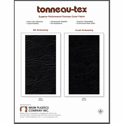 Tonneau-Tex Sample Card
