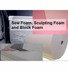 Upholstery Foam: Sculpting, Pleating, & Sheets