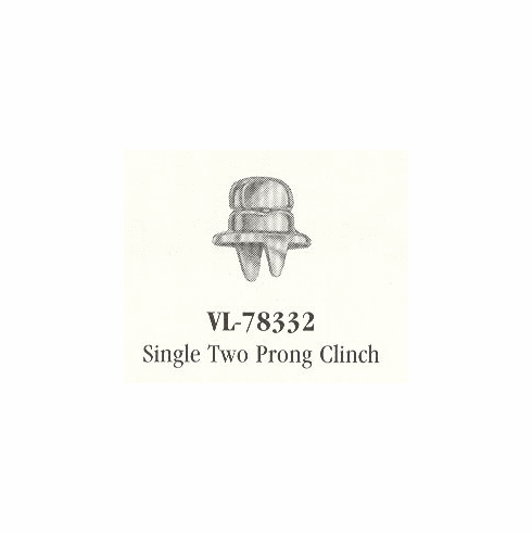 VICAR Single, Two Prong Clinch for Turnbuckle Fasteners