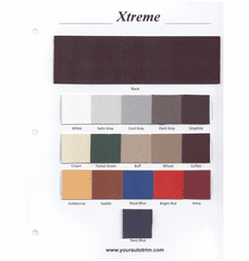 Xtreme Sample Card OUT OF STOCK