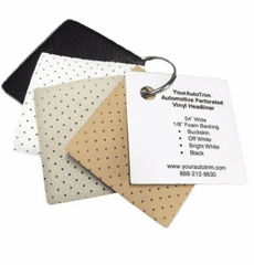 YourAutoTrim Perforated Headliner Sample Ring OUT OF STOCK