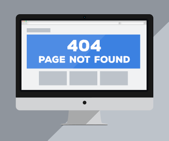 Custom 404 (Page not found) Page for Yahoo! Stores - Click to enlarge