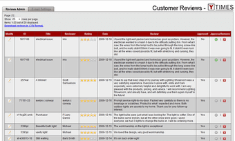 Customer Reviews for your Yahoo Store - Click to enlarge
