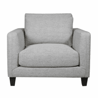 Accentrics D192-704-682-926 Double Cushion Chair - Lt Grey