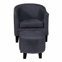 Accentrics DS-2278-900-118 Accent Chair & Ott - Denim Vintage
