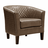 Accentrics DS-2515-900-397 Accent Chair Eldorado Mink
