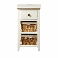 Accentrics DS-A049-857 Bathroom Storage Accent with Baskets