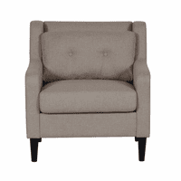 Accentrics DS-A190-681-113 Mid Century Chair - Glacier