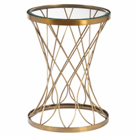 Accentrics DS-D051029 Metallic Accent Table