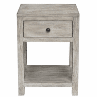 Accentrics DS-D146-001 Reclaimed Wood Side Table