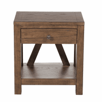 Accentrics DS-D153-005 One Drawer Side Table