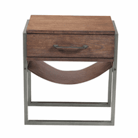 Accentrics DS-D153-201 One Drawer Accent Side Table