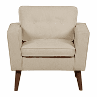 Accentrics DS-D153-702-546 Mid Century Accent Chair in Beige
