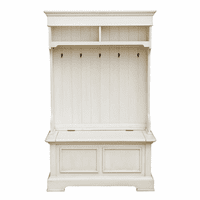 Accentrics DS-D153-805A White Hall Tree - Storage