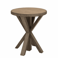 Accentrics DS-D192-206 Lt Oak Plank Top End Table