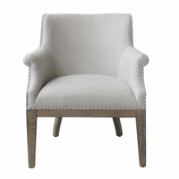 Accentrics DS-D192-701-1 Deconstructed Arm Chair - Dove