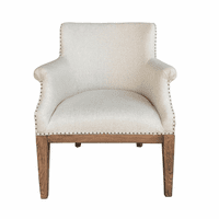 Accentrics DS-D192-701 Deconstructed Arm Chair - Linen