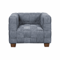 Accentrics DS-D192-707 Woven Accent Chair - Indigo
