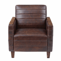 Accentrics DS-D229-706 Wood Capped Arm Lounge Chair
