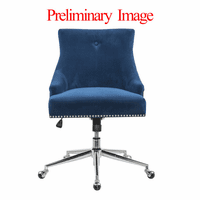 Accentrics DS-D274-703-1 Navy Button Back Home Office Chair