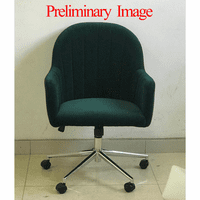 Accentrics DS-D274-705-1 Emerald Channeled Back Office Chair