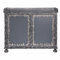 Accentrics P020002 Distressed Bar Cabinet