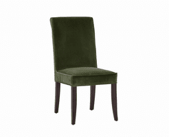 Baron Dining Chair - Giotto Olive Fabric