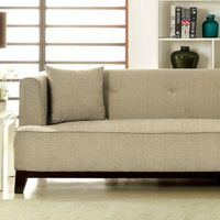 BEIGE FABRIC SOFA CM6761BG-SF