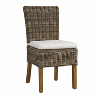 Boca Chair Kubu-with White Cushion