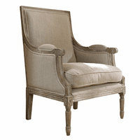 Carolina Beach Lounge Chair - Sand Linen