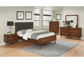 COASTER 205131Q QUEEN DARK WALNUT BED