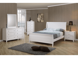 COASTER 400231T-S4 TWIN 4PC SET (T.BED,NS,DR,MR)