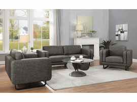 COASTER DARK BROWN SOFA & LOVE SEAT 508201-S2