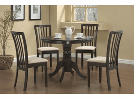 COASTER DINING 5PC SET (TBL+4CHAIR)