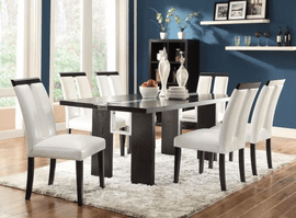 COASTER DINING 5PC SET (TBL+4SIDE) 104561-S5