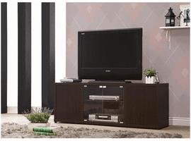 COASTER TV STAND BROWN COLOR 700886